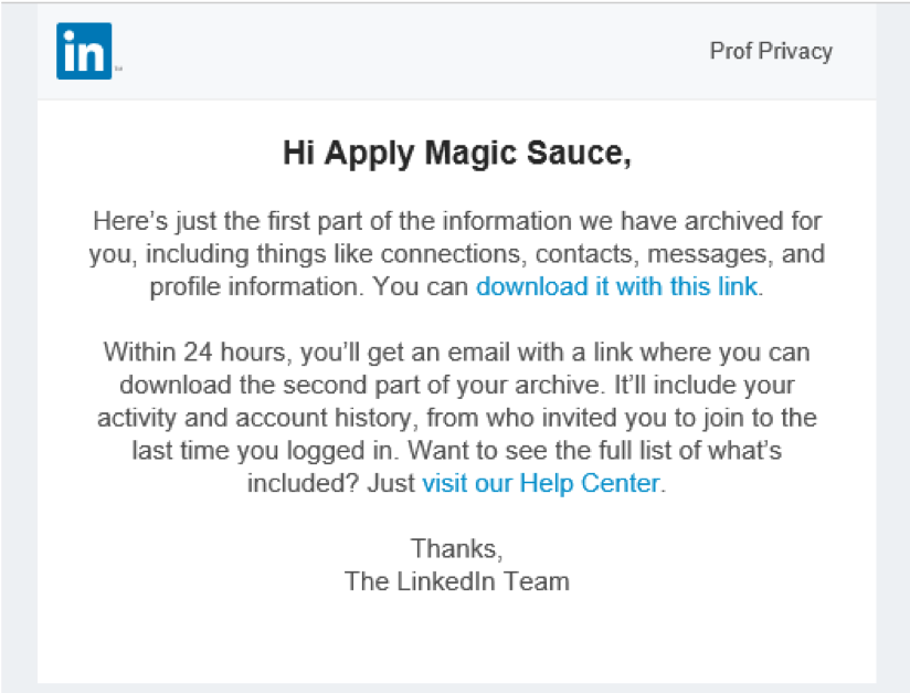 Apply Magic Sauce - Prediction API